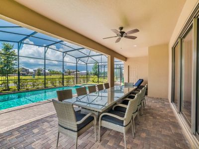 Photo for Picture Relaxing by Your Private Pool in Your Beautiful Villa in Windsor At Westside Resort, Orlando Villa 1029