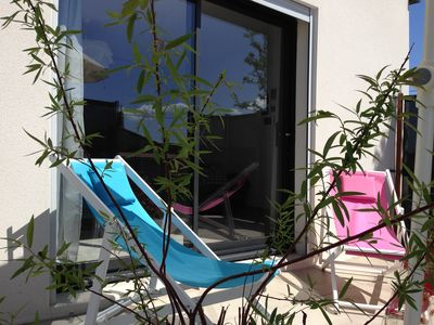 Photo for tastefully decorated studio near the Pont d'Arc valley and the Ardèche gorges