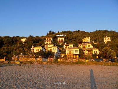 Photo for Horefto-pelion / Apartment  Angelina 125sq.m, 45m Distance From The Sandy Beach