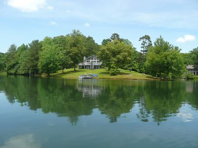 Photo for LAKEFRONT AND MOUNTAIN CABIN 2 hrs from ATLANTA MURPHY ~NC~