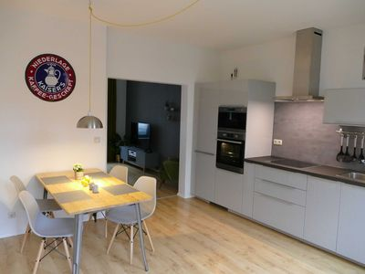 Photo for Stylish apartment at the city harbor in Schwerin