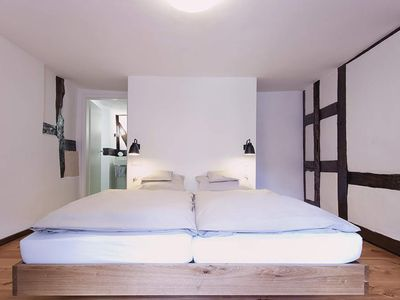 Photo for Double Room - Half-timbered room as single room - Romantik-Hotel Alte Vogtei