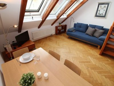 Photo for Prague Apartment, Sleeps 4 with Air Con and WiFi