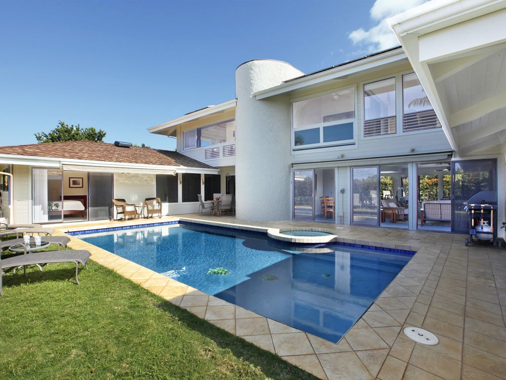 five bedroom houses 5 bedroom house with private pool princeville 561