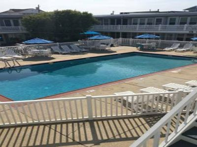 Photo for BRIGANTINE--52 seconds to OCEAN by FOOT with luxurious pool