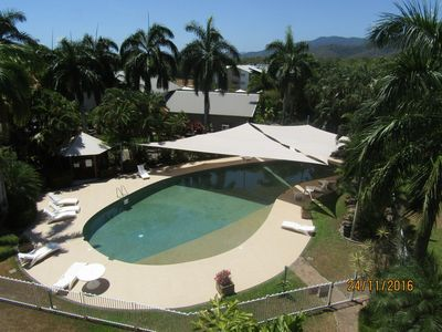 Photo for 2 Bedroom resort apartment WiFi Foxtel pools beach Gym all here