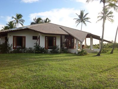 Photo for independent house in a private residence with pool and direct beach access