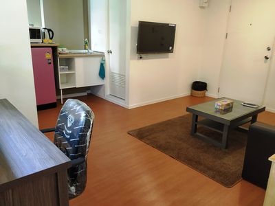 "Photo for Family Apartment ""My Home In Bangkok"" A2/111 swimming pool,  gym, courts, etc"