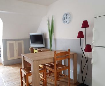 Photo for T2 apartment 5 minutes walk from the thermal baths and city center
