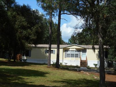 Photo for Clean & neat, Gated, Quite, Charming Country Living Place, on 1/2 acre,