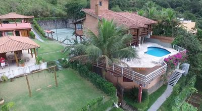 Photo for 4suites + guest house for 15 or 21 people + pool + tennis court + large garden