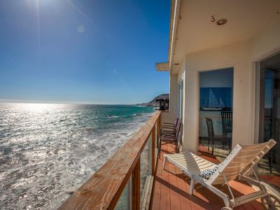 Photo for Beachfront Malibu Dream House - Directly on the Sand