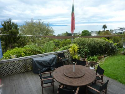 Photo for Views, Sun, Outdoor Living & Walk to the Beach!