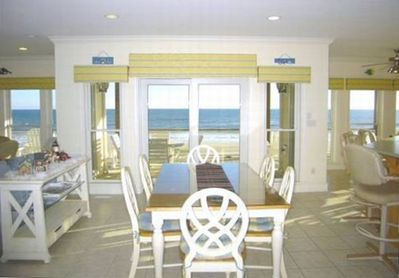 TRANQUILITY -- Panoramic Ocean View Entering Level 1, Dining Area