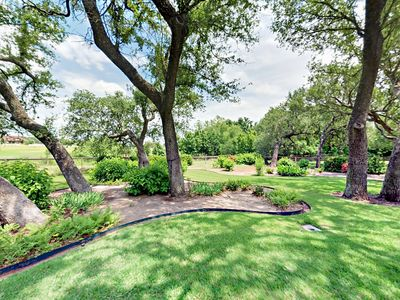 Photo for Fall Savings! Dripping Springs 4BR w/ Park-like Backyard & Gourmet Kitchen