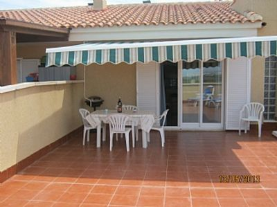 Photo for Duplex Apartment With Full A/C .WiFi, UKTV, Solarium with Mountain and Seaviews.