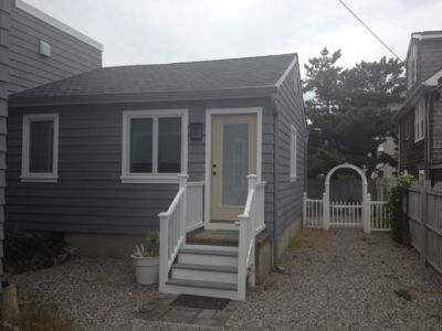 Photo for Rear house with a private backyard, outdoor shower and right near the beach!