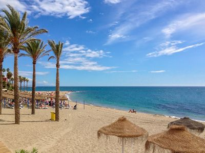 Photo for 4 bedroom groundfloor apartment 60m from beach and yachtport of Benalmadena