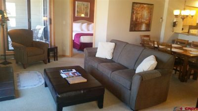 Photo for Ski In/Ski Out Newly Remodeled 2BR/2BA Condo At Purgatory Base Village Area