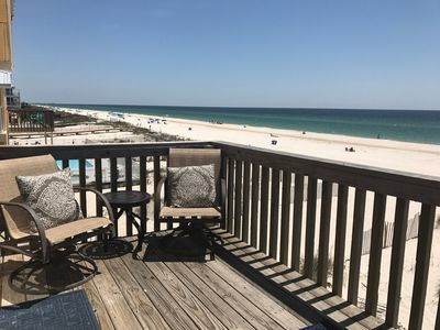 Photo for Direct Gulf Front 2 BR Condo W/ Great Views