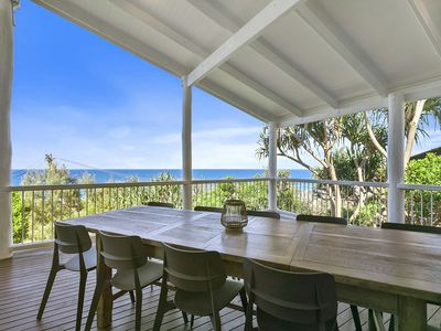 Photo for A 4 bedroom beach house with pool, views, beach access and pet frienldy.