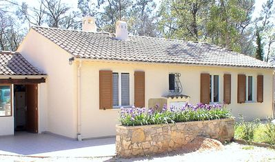 Photo for Take your holidays in Green Provence, between sea and Montangne.