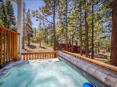 Photo for Unique, light-filled home w/ hot tub, 2 blocks from Heavenly's California Lodge!