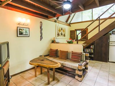 Photo for Tropical house in Jungle Garden with shared pool, Manuel Antonio