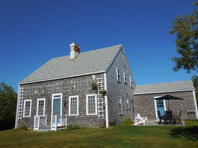 Photo for Private, Relaxing House Sleeps 10, Near Biking, Beach, Nature And Polpis Harbor