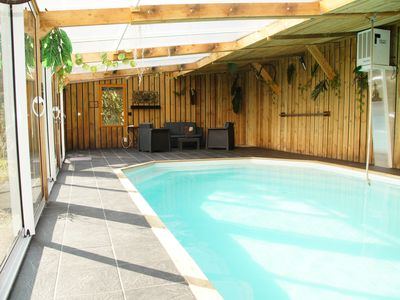 Photo for House with a large garden in the Vexin with a heated indoor pool