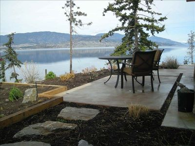 Patio looking north to Kelowna