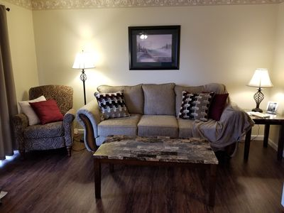 Photo for 2BR/2BA, Walk-in/WI-FI/Free Amenties Pass! $89 a night    t/best deal in town!
