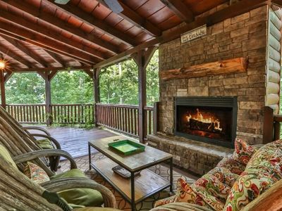 Photo for Aska Way Lodge offers sweeping mountain views within walking distance to hiking, canoeing & tubing.