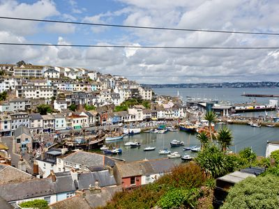 Photo for Fisherman's Cottage in Central Brixham with Stunning Sea views and Beach hut