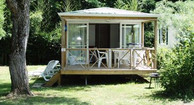 Photo for Camping Les Granges **** - Mobile home Riviera 3 rooms 4 persons