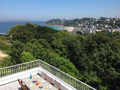 Photo for RENOVATED VILLA IN NINE SUPERB SEA VIEW in Perros-Guirec-Beach 5min walk