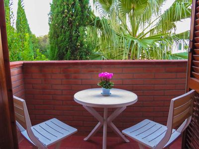 Photo for Apartment in terraced house with terrace and panoramic view, 2room 4 people