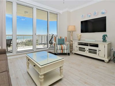 Photo for Beach View Condo with New Updates Throughout! Free Beach Chair Service