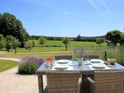 Photo for Le Cerisier - Self Catering renovated former hayloft in the Charente countryside
