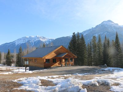 Photo for Log home, Blaeberry Valley on 125 secluded acres in the Canadian Rocky Mountains