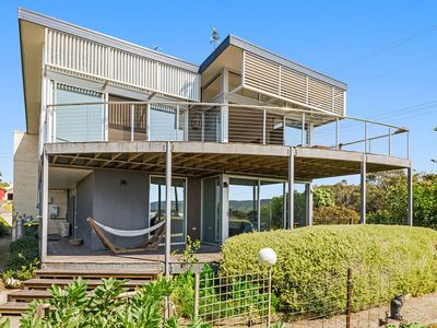 Photo for Stunning four bedroom home 100m from Marengo Beach with expansive ocean view