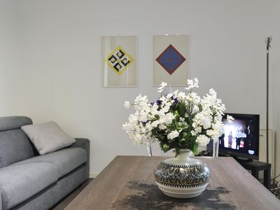 Photo for Spacious Gluck apartment in Stazione di Milano Centrale with WiFi, integrated air conditioning & pr…