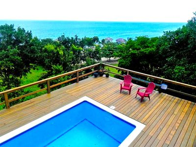 Photo for Hillside Paradise Fly Fishing Flats Private 4 Bedroom  w/ Pool and Ocean View