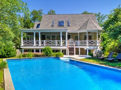 Photo for Luxurious 'Shelter Island Hideaway' w/ Pool!