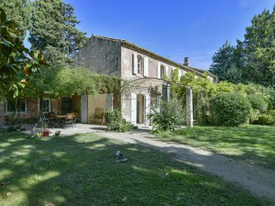Photo for NEW: Authentic provençal mas, up to 10 beds