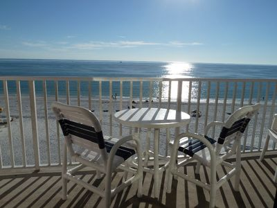 Photo for Listen to the Waves - Remodeled Direct Gulf Front -WiFI  and Long Distance