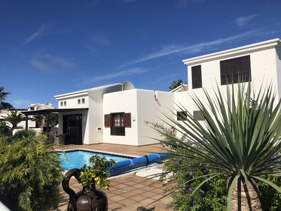 Photo for Special Offer in June Luxury Villa, Fantastic Location. Heated Pool, Wi-Fi