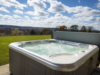 Photo for AMAZING VIEWS!! Outdoor Hot Tub, Ping Pong Table, Arcade Game, Fire Pit!