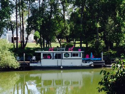 Photo for Unique Houseboat Experience on the Oak Orchard River