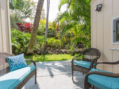 Photo for Tropical townhouse by Kona coast w/ tennis courts, complex pool